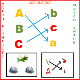 Matching Game:Object & Shapes